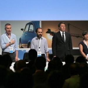 "Renzi all'Assemblea Pd: ""Tre nemici M5s, sinistra improbabile e Lega becera"""