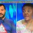 Matteo Salvini e Cécile Kyenge