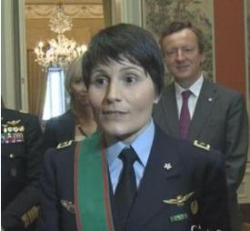 """Samantha Cristoforetti al Quirinale: """"Incontrare Mattarella è un onore"""""""