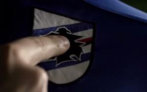 Sampdoria, nuova maglia col coro: chip incorporato sotto il Baciccia