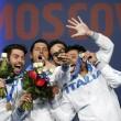 Scherma, mondiali: Italia oro nella sciabola3