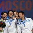 Scherma, mondiali: Italia oro nella sciabola2