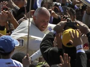 """Papa Francesco: """"Diciamo senza paura che vogliamo un cambiamento"""""""