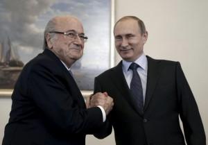 """Vladimir Putin: """"Blatter merita Nobel per la Pace"""""""