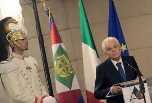 """Mattarella: """"No uomo solo è al comando, riforme punti nevralgici legislatura"""""""