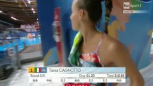 Tania Cagnotto oro ai Mondiali Kazan 2015 nei tuffi trampolino 1 metro