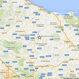 Terremoto di magnitudo 3.3 in provincia di Campobasso