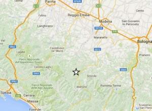Terremoto Appennino Modenese: scossa 2.6, avvertita anche vicino Pistoia
