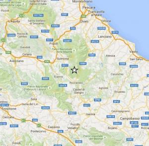 Terremoto provincia L'Aquila: scossa 2.5 tra Pescocostanzo, Rivisondoli, Roccaraso