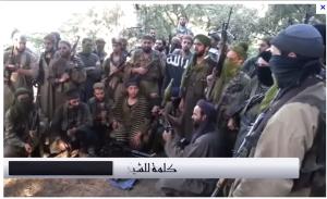 Terroristi di Ajnad Al Khilafa