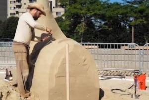 VIDEO - Massachusetts, gara di sculture e castelli di sabbia
