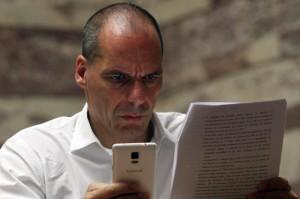 Yanis Varoufakis (foto Ansa)