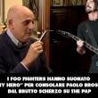 Foo Fighters fanno cose buone: aiutano Paolo Brosio... 04