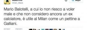 Balotelli serve al Milan come un pettine a Galliani