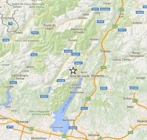 Terremoto in Trentino, la mappa dell'epicentro