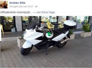 Andrea Sitta morto in moto a Codigoro. L'aveva appena comprata