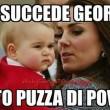 Principessa Charlotte rosica male, Baby George ti disprezza: piccoli reali su Fb FOTO