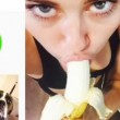 VIDEO - Miley Cyrus fa yoga, poi mangia una banana