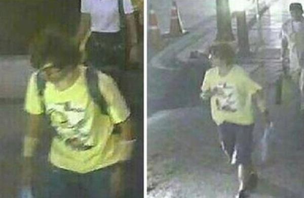 Bangkok, FOTO attentatore: maglietta gialla, occhiali