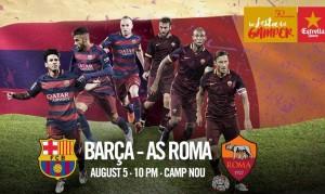 Barcellona-Roma, streaming e diretta Tv: dove vedere la partita