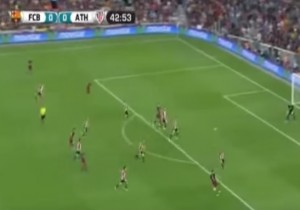 VIDEO YouTube - Barcellona-Athletic Bilbao 1-1: highlights