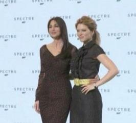 """Monica Bellucci e Lea Seydoux raccontano """"Spectre"""""""