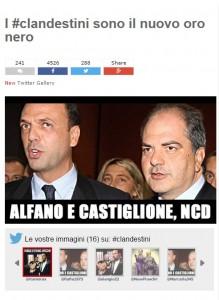 Il post pubblicato sul blog di Beppe Grillo