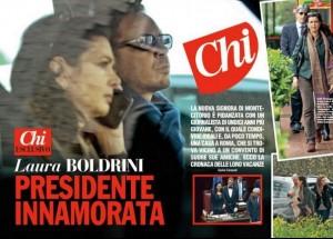 Laura Boldrini-Vittorio Longhi, addio? Lei è sempre sola...