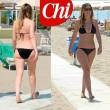 Maria Elena Boschi in bikini, cellulite sulle gambe VIDEO