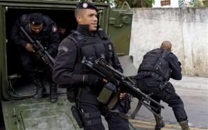 Polizia in Brasile