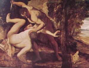 Pd, cioè Caino e Abele. Lotta mortale feroce, ipocrita e con poca dignità