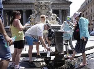 Una fontanella a Roma