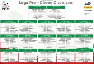 Calendario girone C Lega Pro 2015-16
