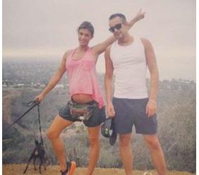 VIDEO - Elisabetta Canalis mostra il pancione mentre si allena per tenersi in forma