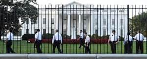 La cancellata della Casa Bianca