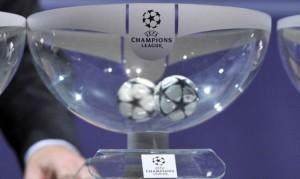Il sorteggio per i playoff di Champions League