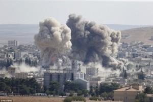 Bombardamenti della coalizione Usa in Iraq e Siria