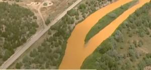 VIDEO YouTube Colorado, fiume Animas giallo per inquinamento