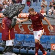 Roma Siviglia 6-4: Dzeko primo fantastico gol5