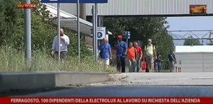 Electrolux Susegana: a Ferragosto 101 operai al lavoro