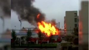 VIDEO YouTube - Cina, esplode impianto chimico a Zibo