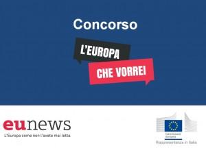 """Concorso """"L'Europa che vorrei"""". In palio viaggio a Bruxelles"""