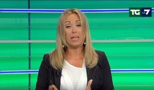 VIDEO YouTube - Tg La7, Francesca Fanuele batte Enrico Mentana nello share