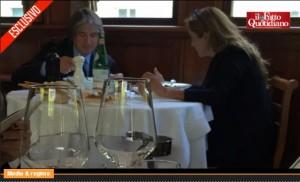 Monica Maggioni e Antonio Campo Dall'Orto al ristorante: beccati dal Fatto.it