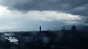 Temporale a Firenze