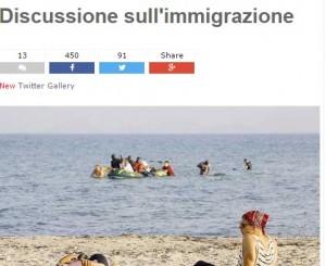 Migranti, Beppe Grillo contro Buccarella e linea morbida