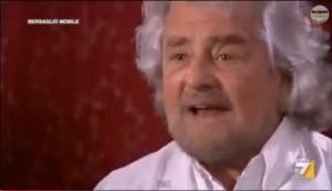Beppe Grillo a In Onda su La7. Prima volta da villa Bibiona