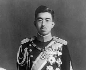 L'imperatore Hirohito (foto da Wikipedia)