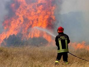 Boom incendi, vigili del fuoco pochi, malpagati, demotivati
