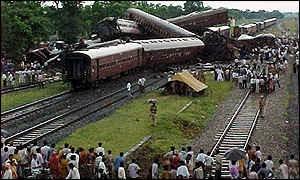 I treni deragliati